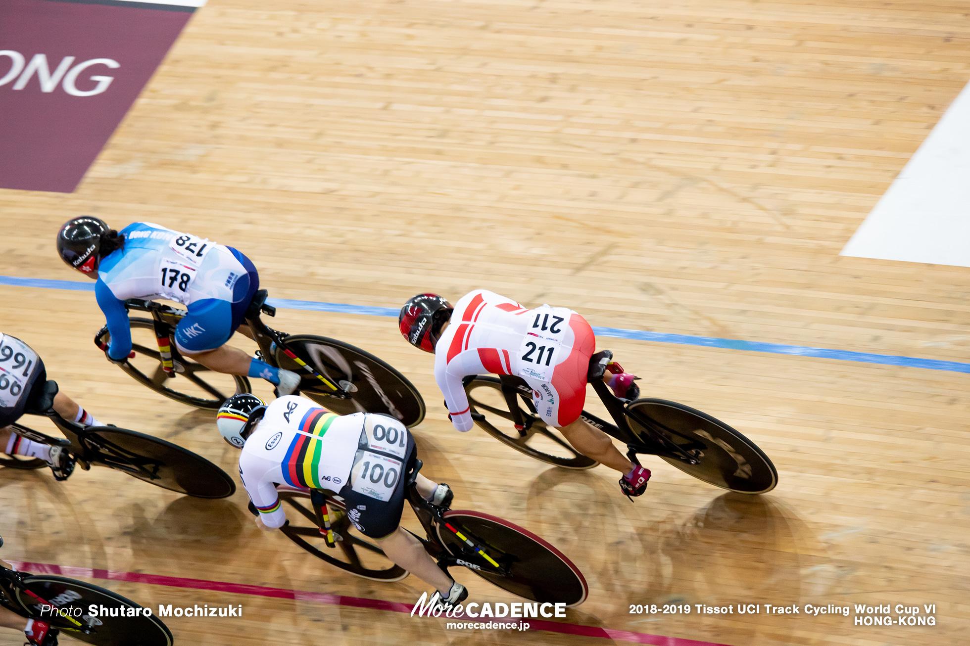 Final / Women's Keirin / Track Cycling World Cup VI / Hong-Kong