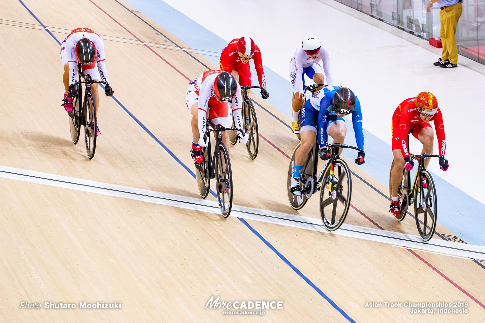 Final / Women's Elite Keirin / Asian Championships Track 2019 Jakarta