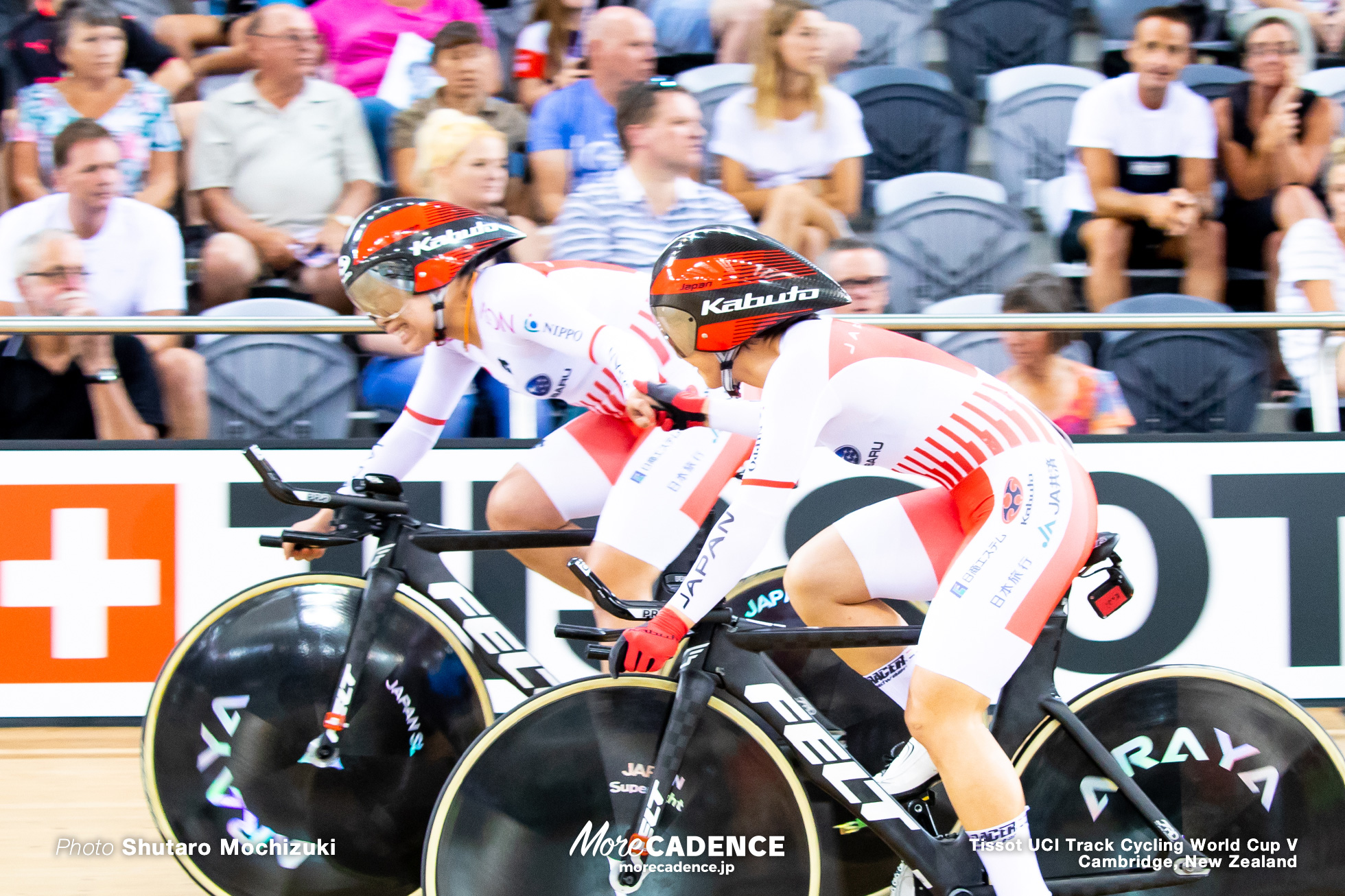1st Round / Women's Team Pursuit / Track Cycling World Cup V / Cambridge, New Zealand