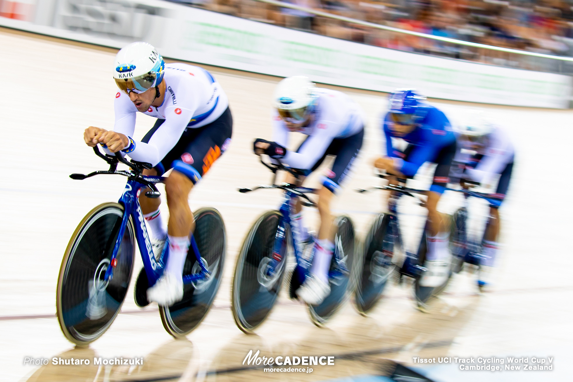 1st Round / Men's Team Pursuit / Track Cycling World Cup V / Cambridge, New Zealand