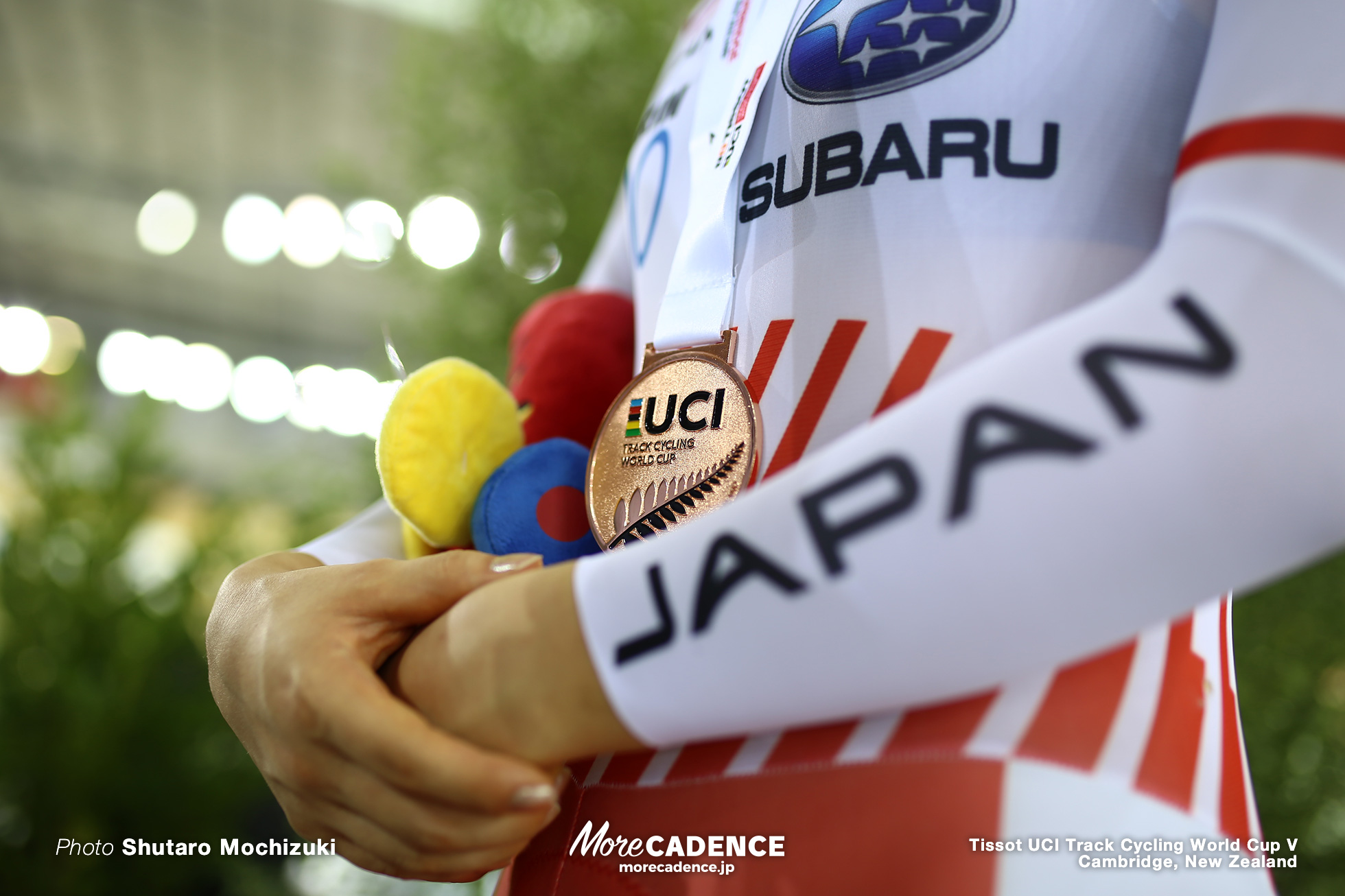 梶原悠未 / Women's Omnium / Track Cycling World Cup V / Cambridge, New Zealand