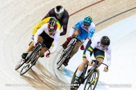 First Round Repechage / Men's Keirin / Track Cycling World Cup V / Cambridge, New Zealand