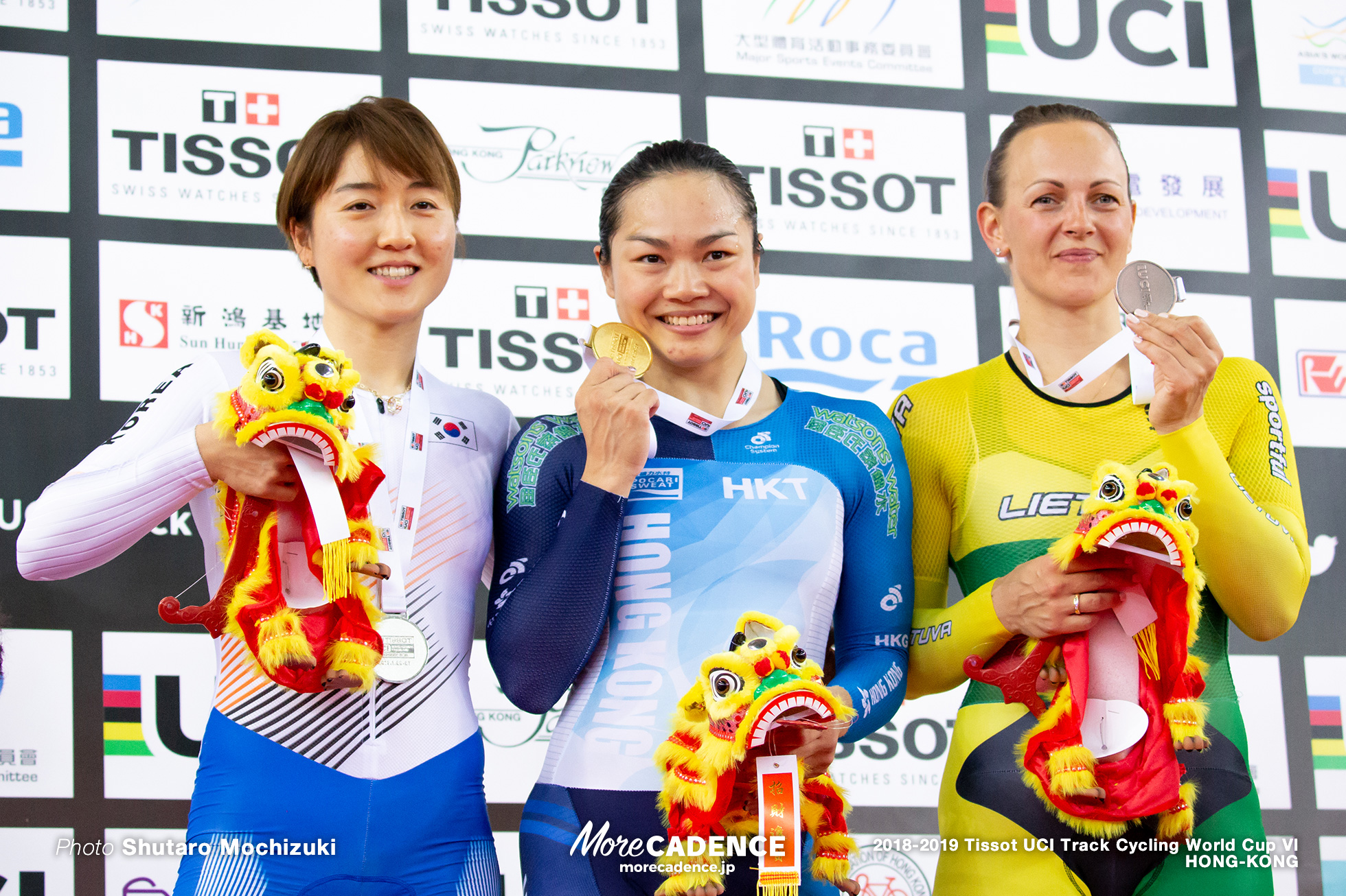 Final / Women's Sprint / Track Cycling World Cup VI / Hong-Kong