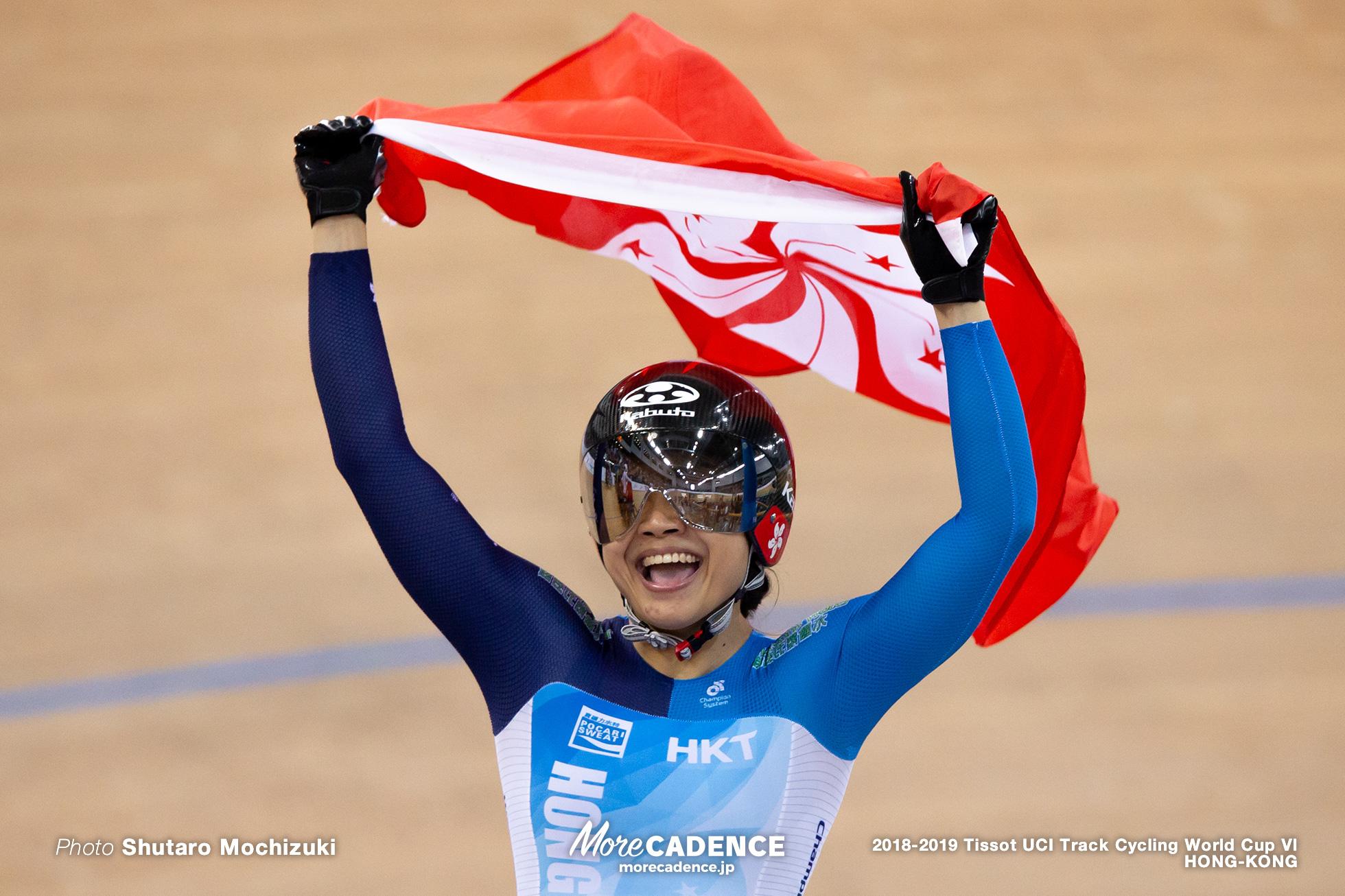 Final / Women's Sprint / Track Cycling World Cup VI / Hong-Kong