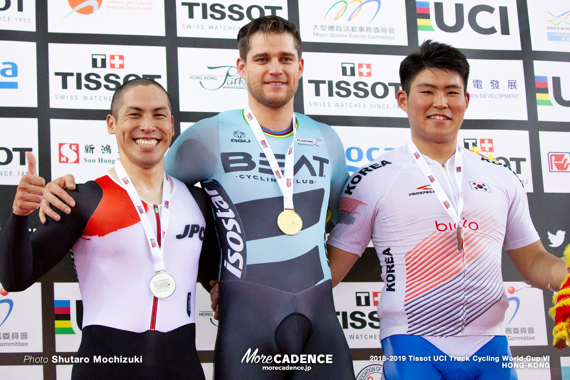 Final / Men's Keirin / Track Cycling World Cup VI / Hong-Kong