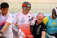 Men's Elite Keirin Semi Final / Asian Championships Track 2019 Jakarta