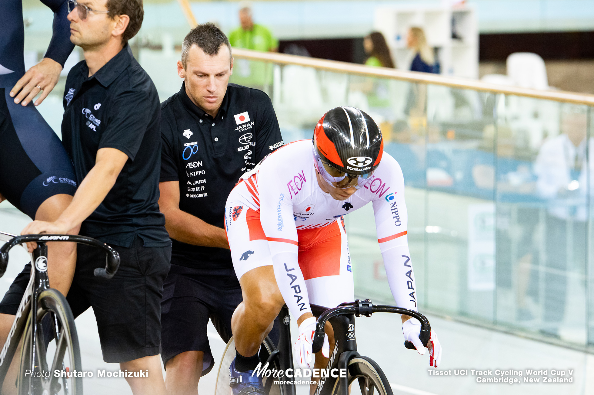 Final / Men's Keirin / Track Cycling World Cup V / Cambridge, New Zealand