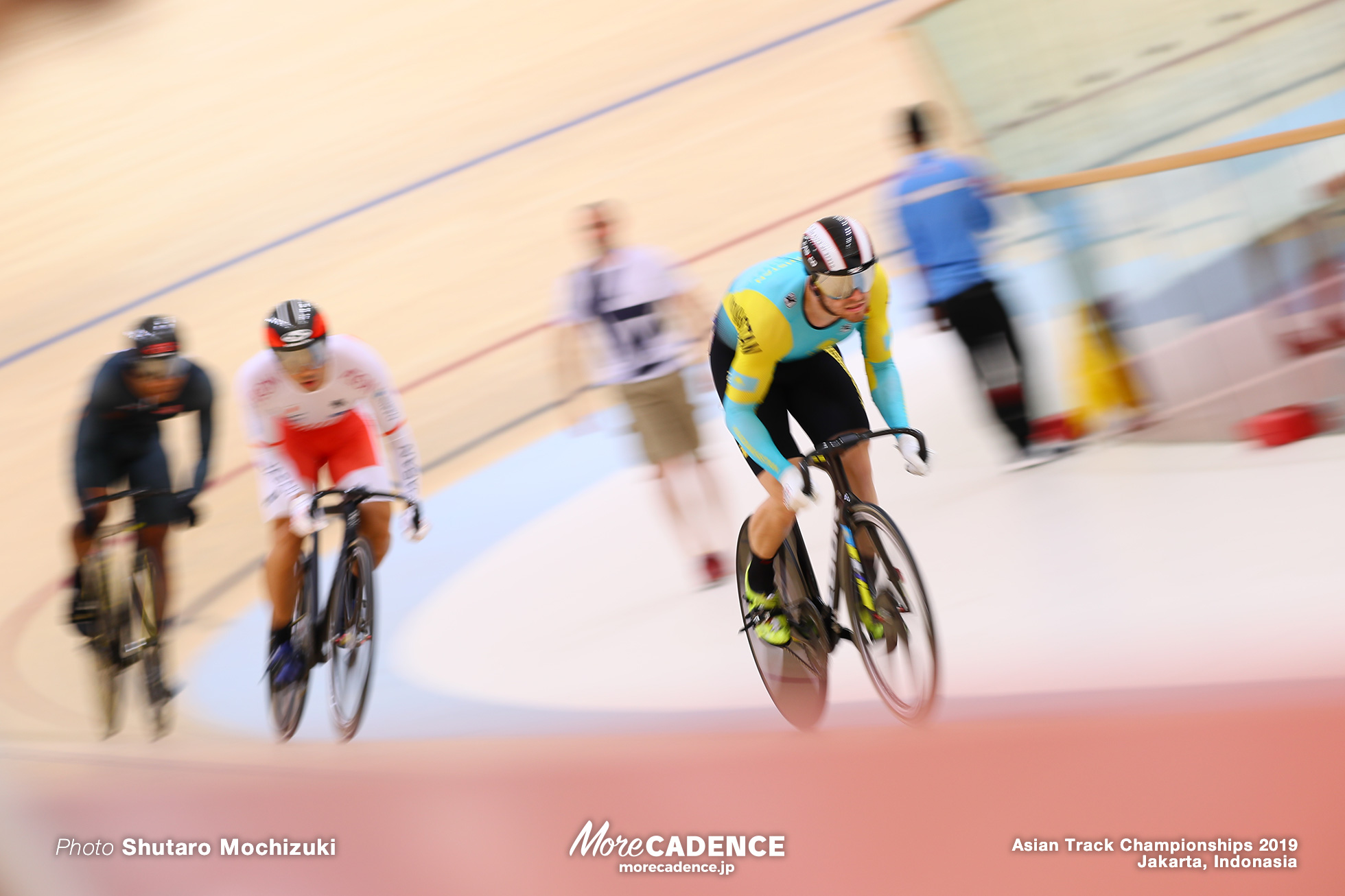 Men's Elite Keirin Semi Final / Asian Championships Track 2019 Jakarta