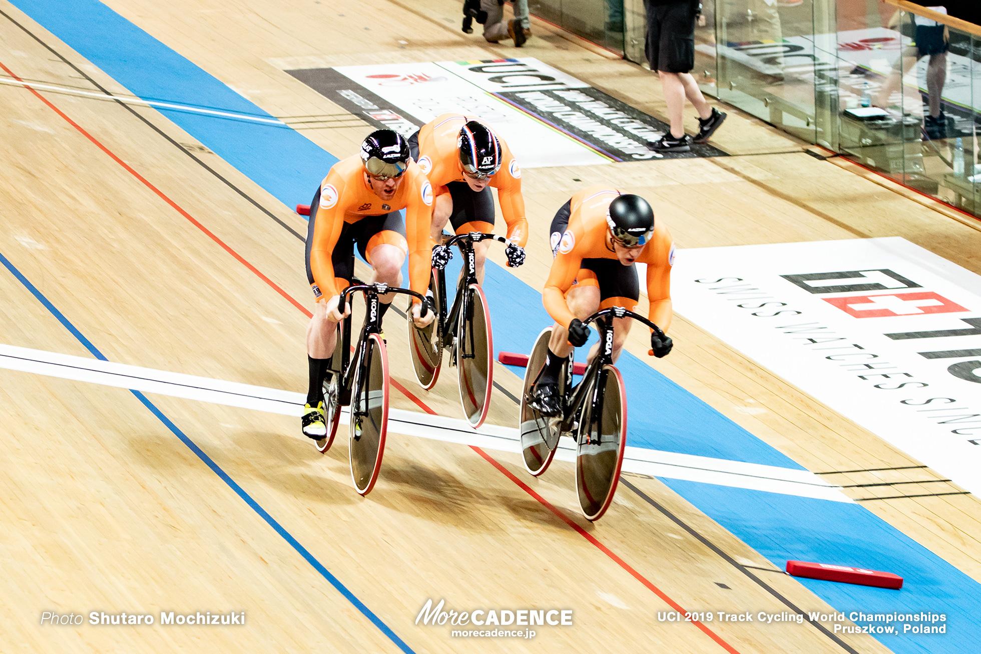 Men's Team Sprint Final / 2019 Track Cycling World Championships Pruszków, Poland