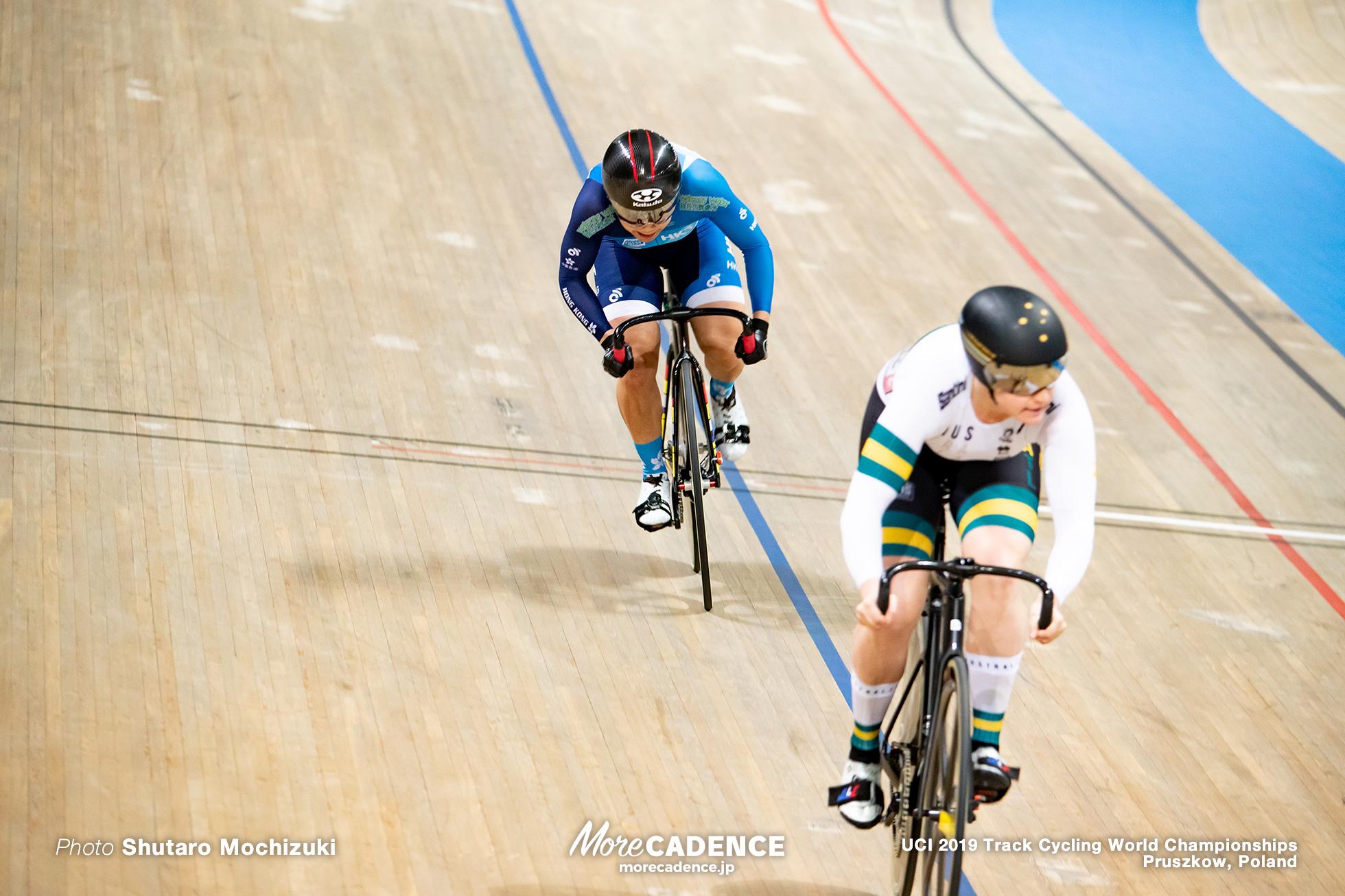 Women's Sprint Final / 2019 Track Cycling World Championships Pruszków, Poland