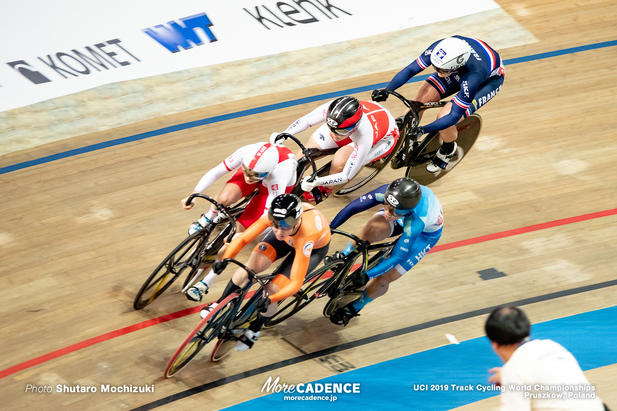 Women's Keirin 1st Round / 2019 Track Cycling World Championships Pruszków, Poland