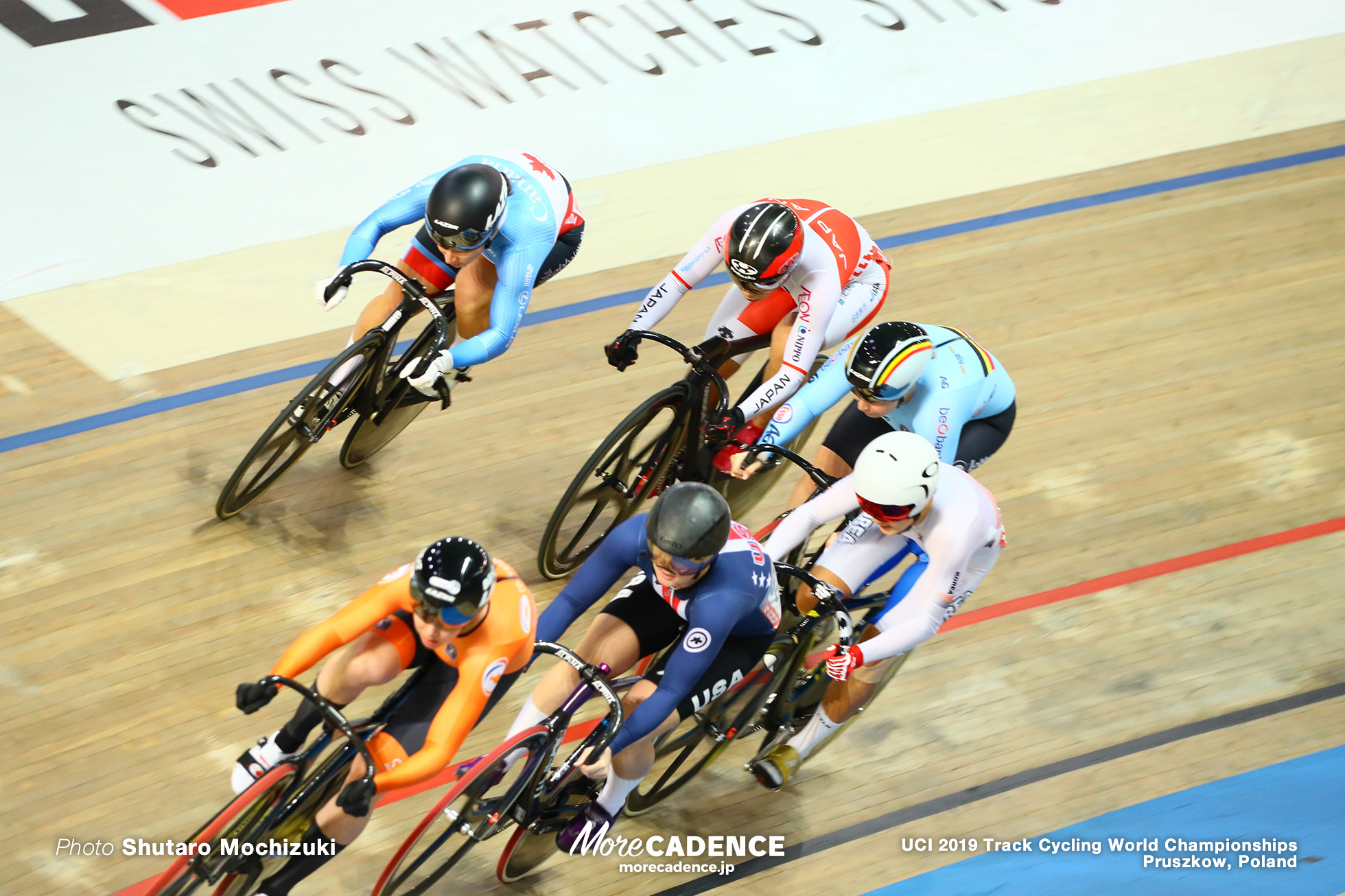 Women's Keirin Quarterfinals / 2019 Track Cycling World Championships Pruszków, Poland