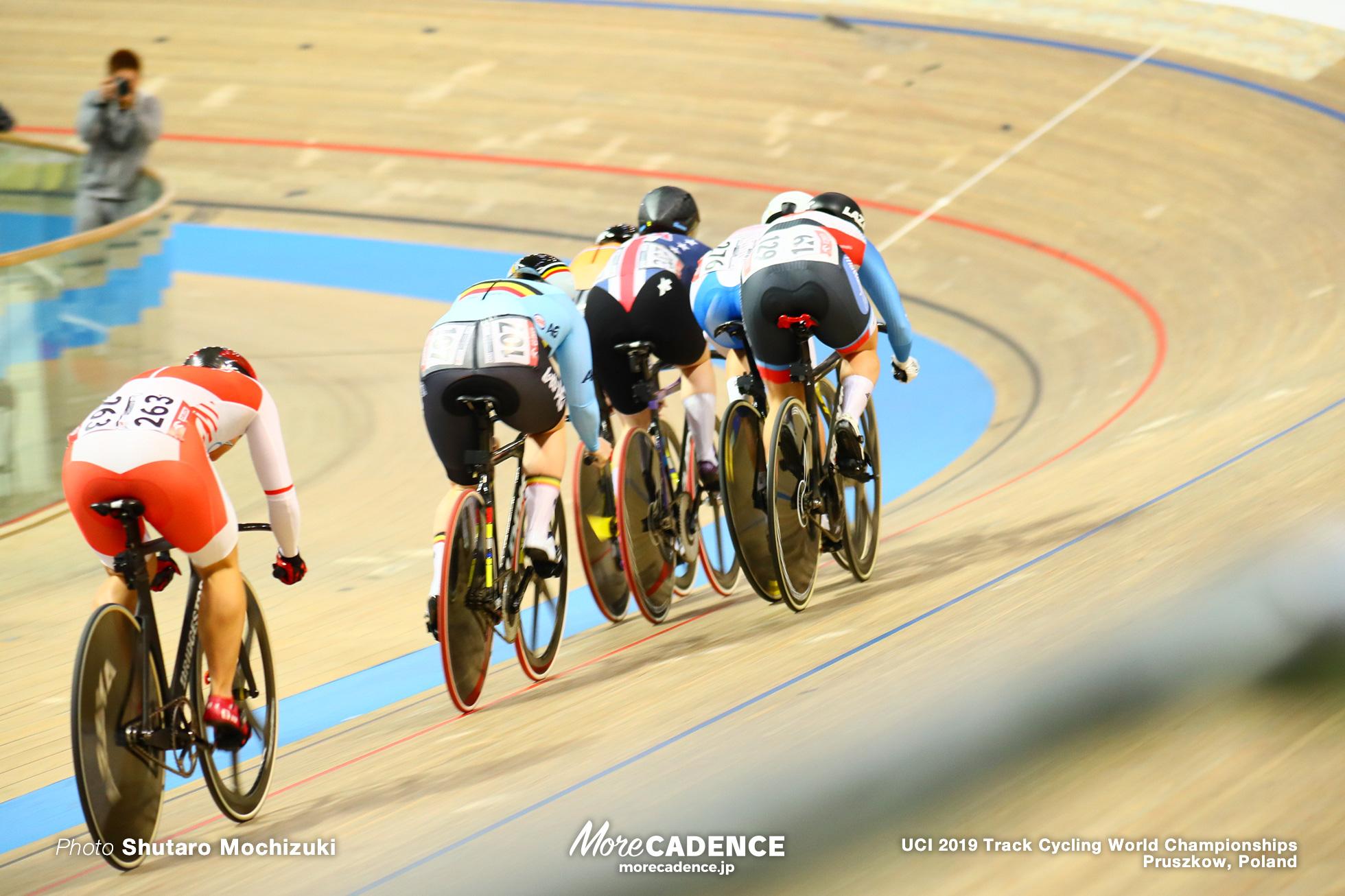 Women's Keirin Semi Final / 2019 Track Cycling World Championships Pruszków, Poland