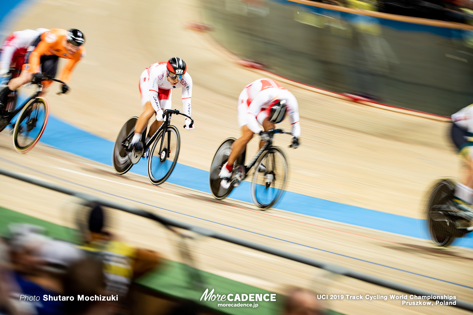 Men's Keirin 1st Round Repechage / 2019 Track Cycling World Championships Pruszków, Poland