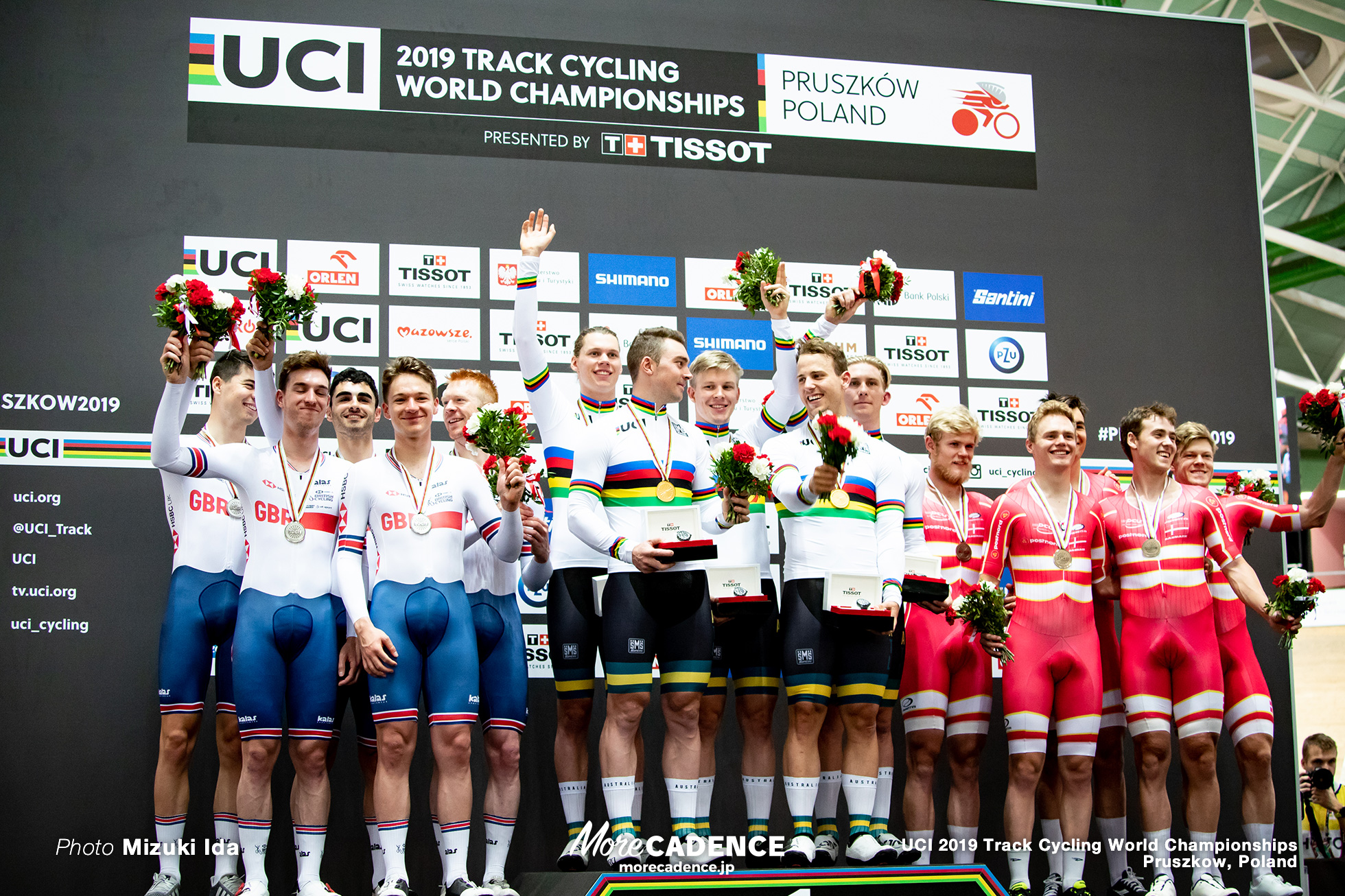 Men's Team Pursuit Final / 2019 Track Cycling World Championships Pruszków, Poland