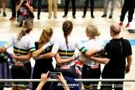Women's Team Pursuit Final / 2019 Track Cycling World Championships Pruszków, Poland