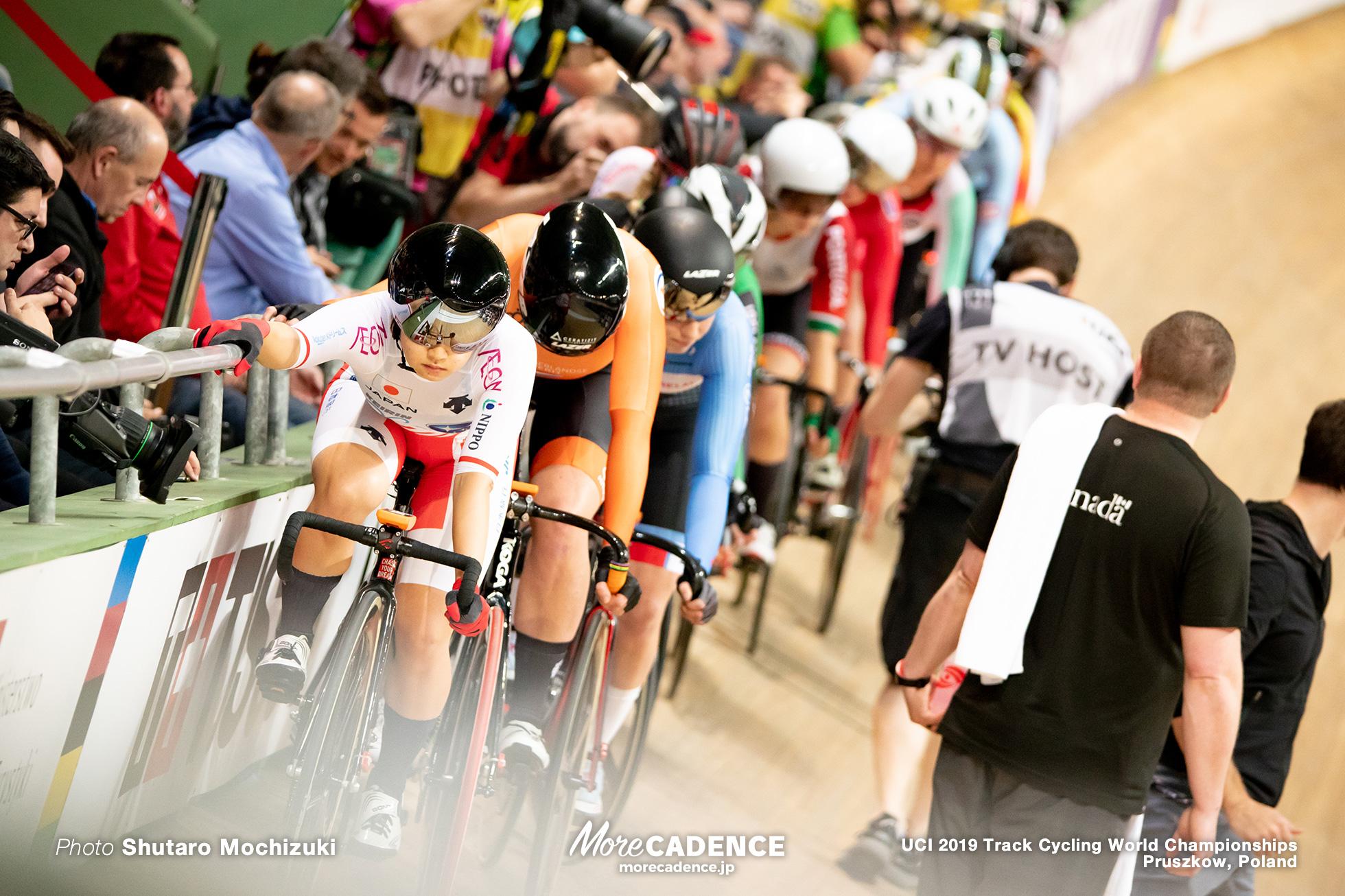 Women's Omnium Elimination / 2019 Track Cycling World Championships Pruszków, Poland