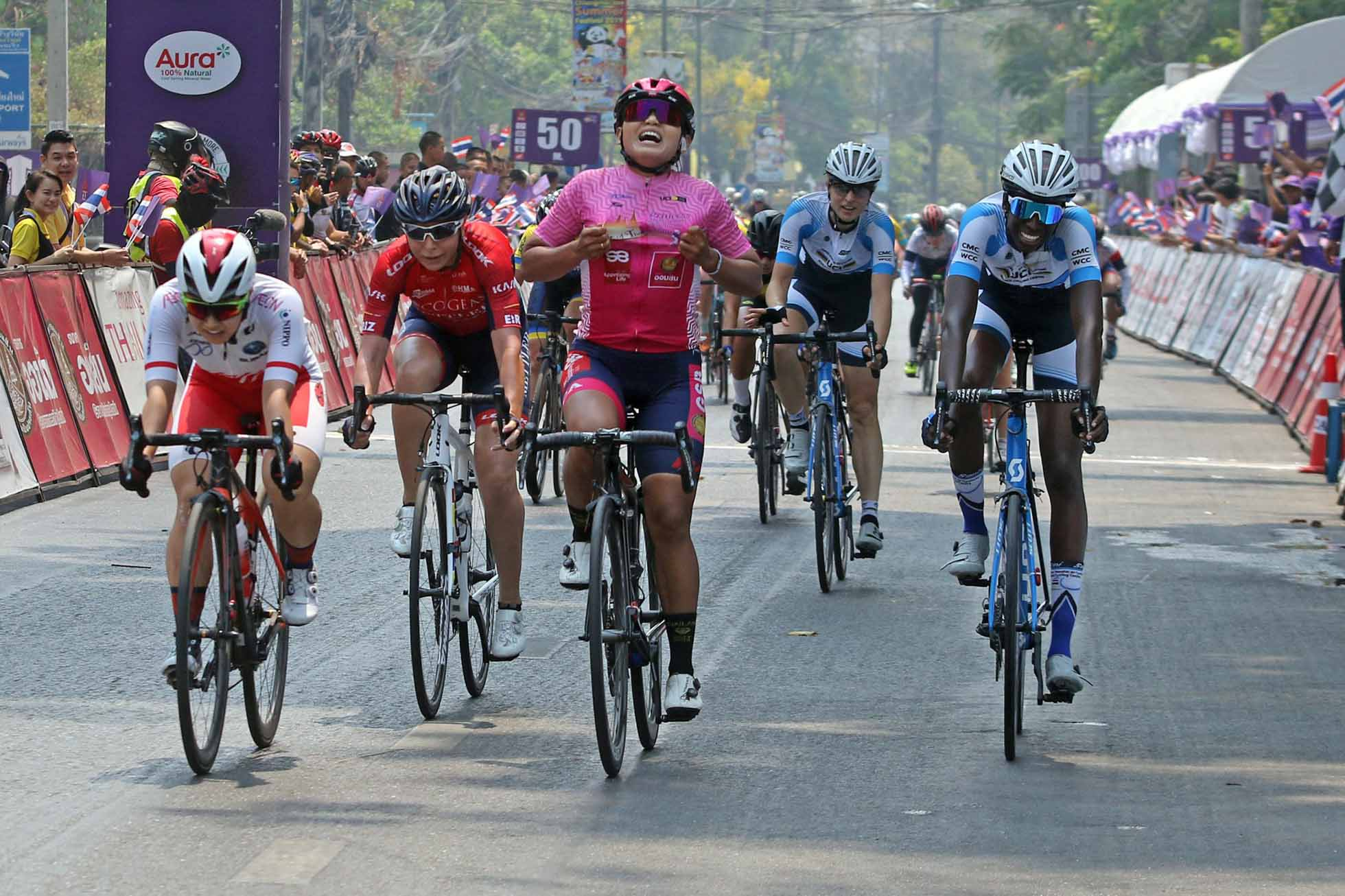 The Princess Maha Chakri Sirindhorn's Cup Women's Tour of Thailand 2019 stage3