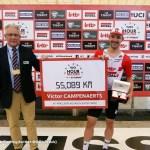 ロット・スーダルのカンペナールツ、アワーレコード55.089kmで世界記録歴史を更新