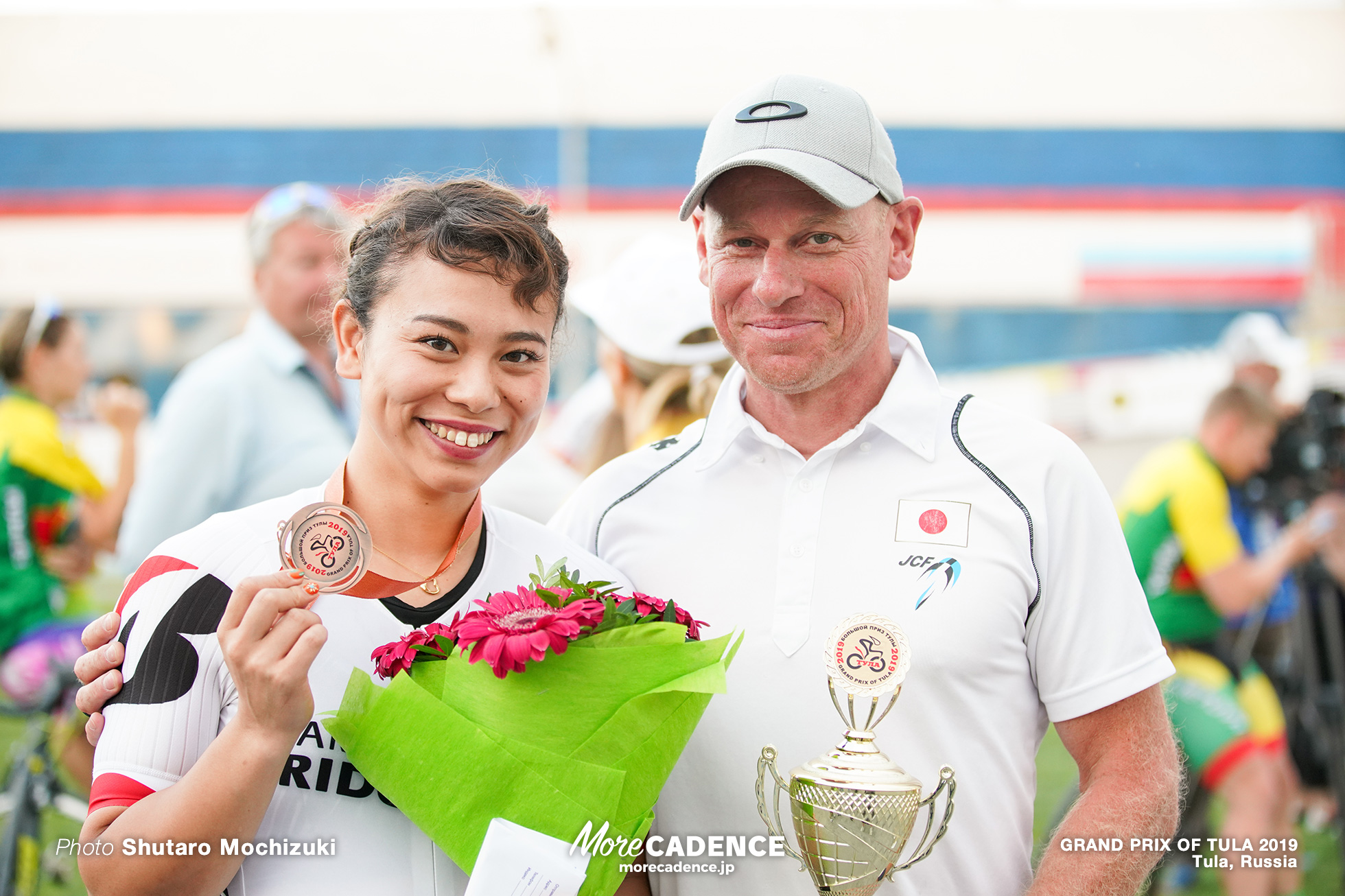 Awarding Ceremony / Women's Sprint / GRAND PRIX OF TULA 2019