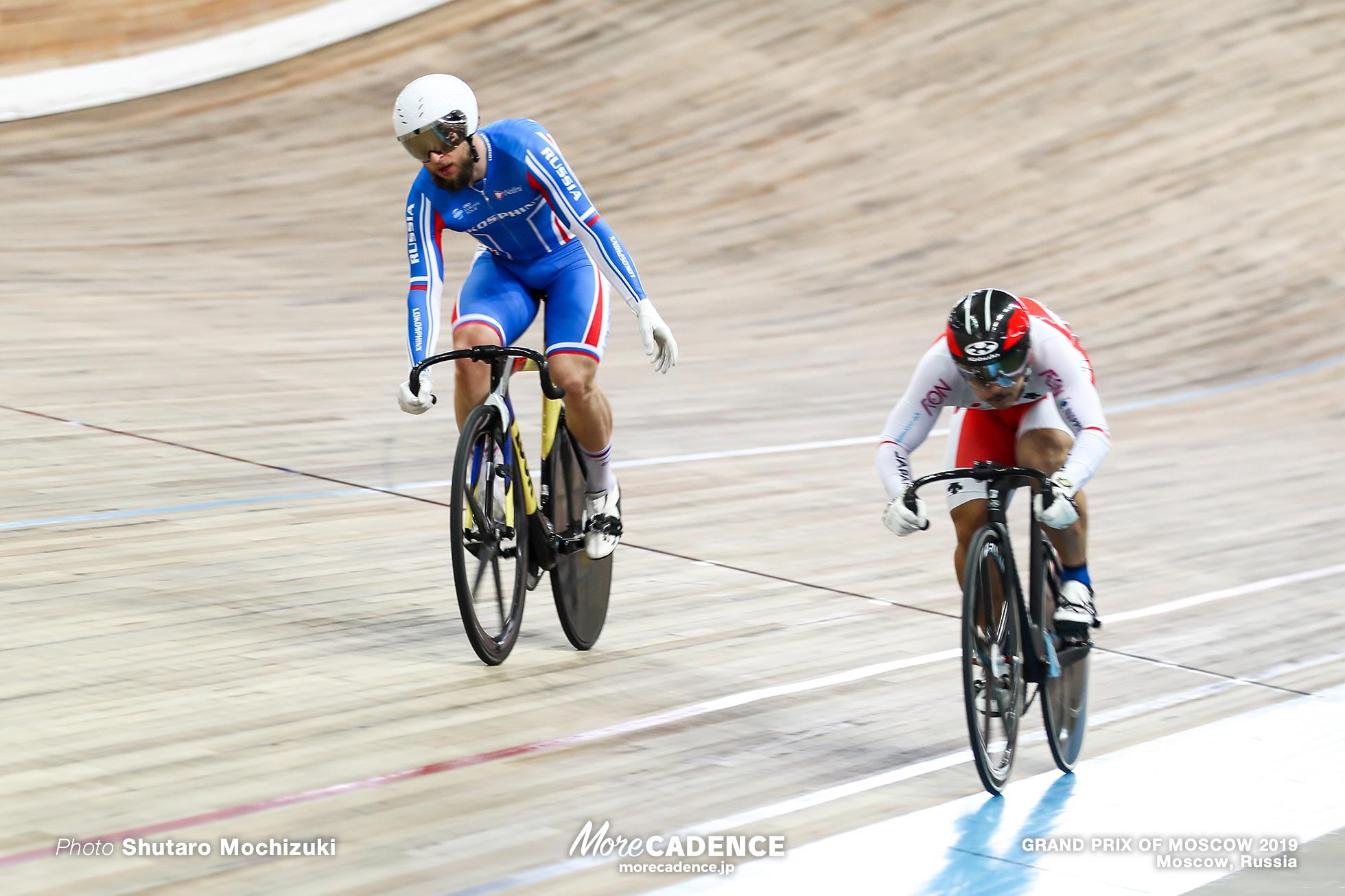 1/16 Finals / Men's Sprint / GRAND PRIX OF MOSCOW 2019