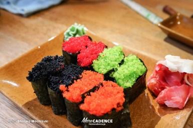 【ロシア・トゥーラ編】カラフルとびこ寿司、緑の何かon the海老、めちゃ美味スープに舌鼓/世界のNEO日本食グルメ旅
