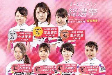 児玉碧衣が3年連続1位『ガールズ総選挙2019』小林優香2位、太田りゆもランクイン