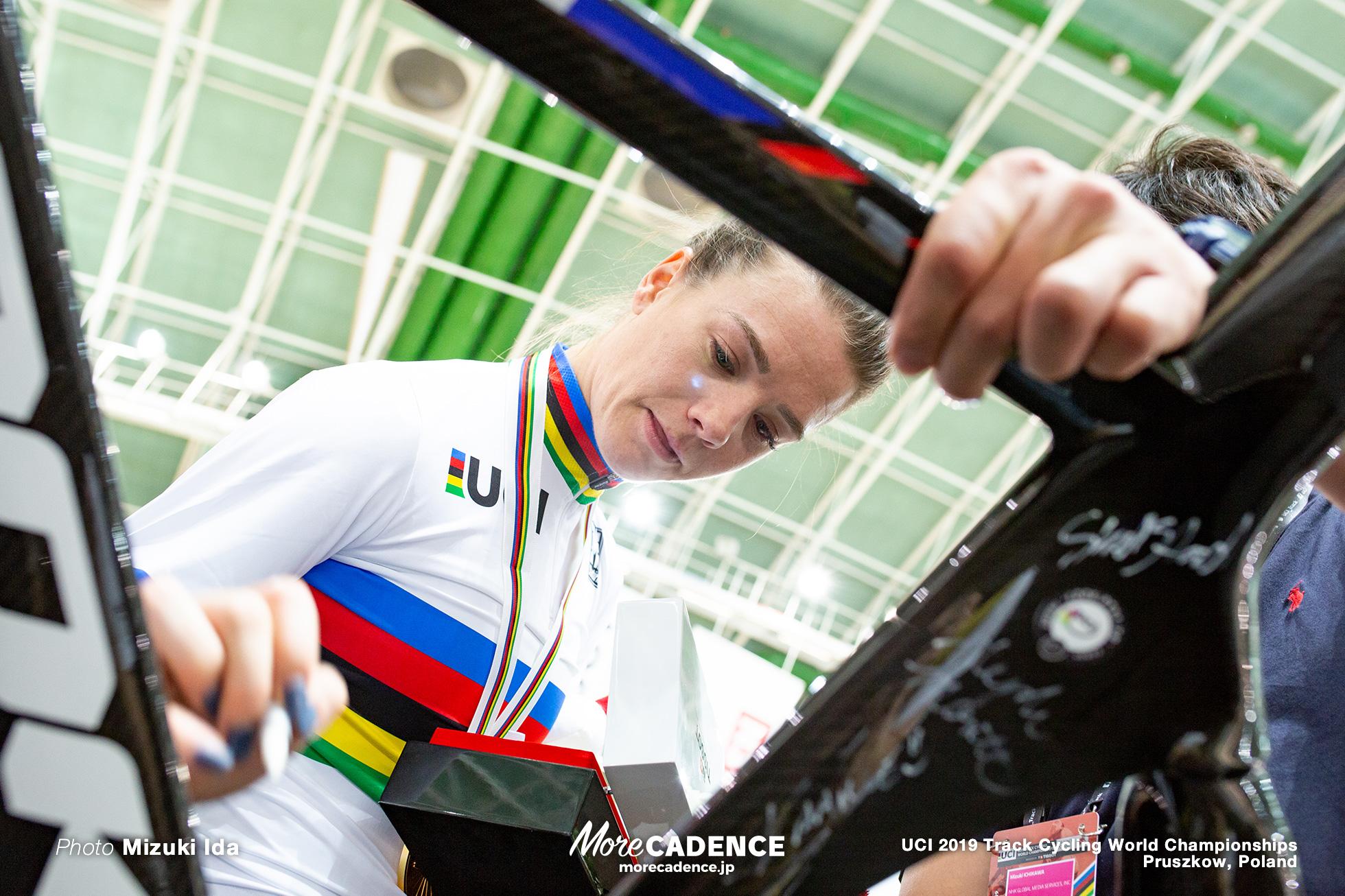 Annette Edmondson, Ashlee Ankudinoff, Georgia Baker, Amy Cure, Alexandra Manly / 2019 Track Cycling World Championships Pruszków, Poland