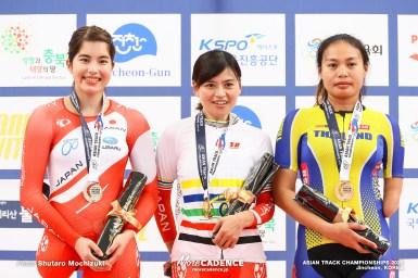 杉浦佳子が金、500mタイムトライアルで日本記録更新/アジア選手権トラック2020