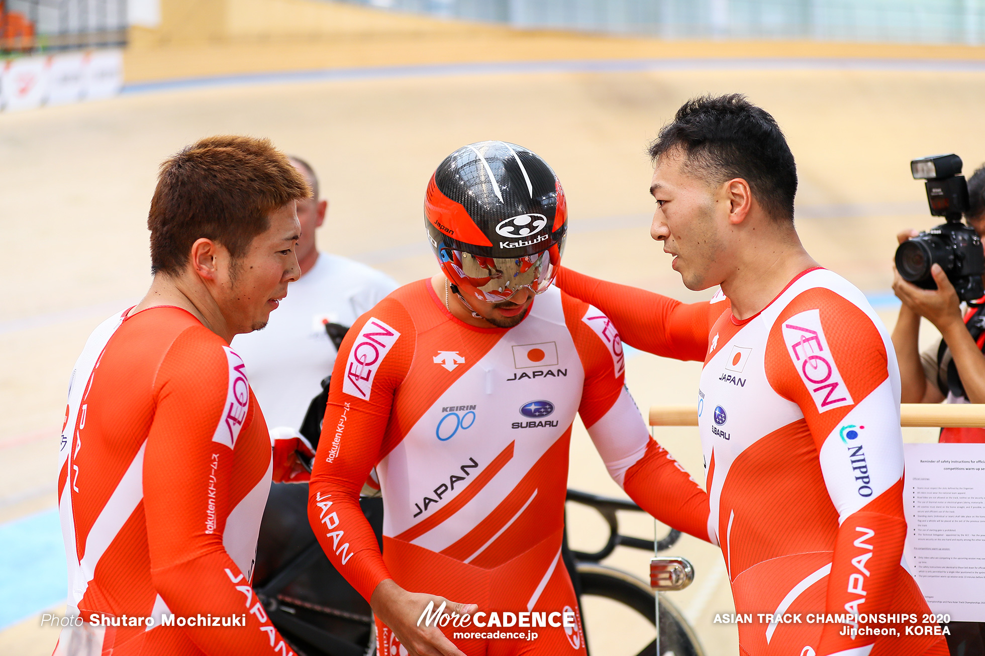 Final / Men Elite Team Sprint / ASIAN TRACK CHAMPIONSHIPS 2020