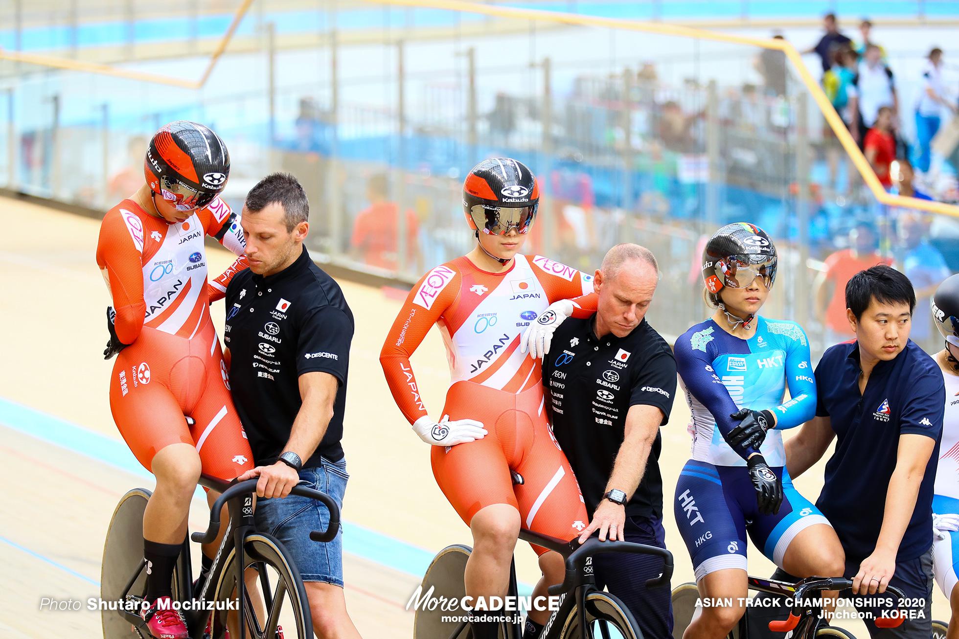 Final / Women Keirin / ASIAN TRACK CHAMPIONSHIPS 2020
