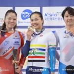 小林優香ケイリン銀メダル/女子ケイリン・アジア選手権トラック2020
