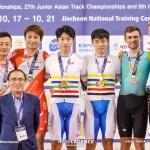 【詳報】男子(橋本英也&窪木一茂)銀メダル、女子5位/男女マディソン・アジア選手権トラック2020
