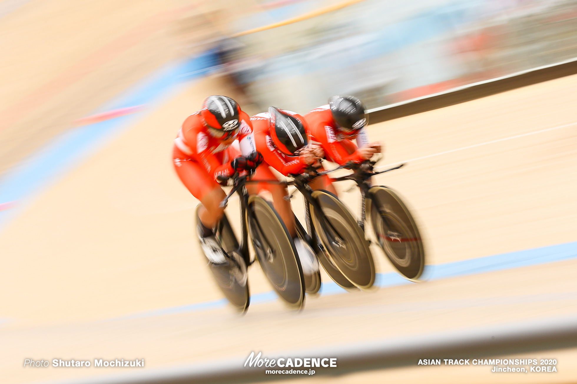 Qualifying / Women Elite Team Pursuit / ASIAN TRACK CHAMPIONSHIPS 2020