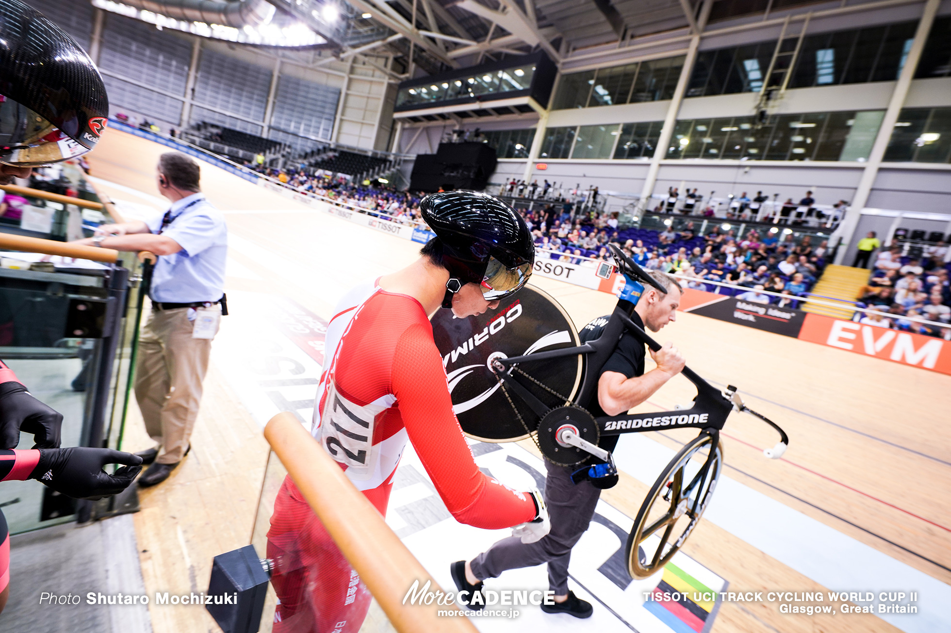 Repechage / Men's Keirin / TISSOT UCI TRACK CYCLING WORLD CUP II, Glasgow, Great Britain