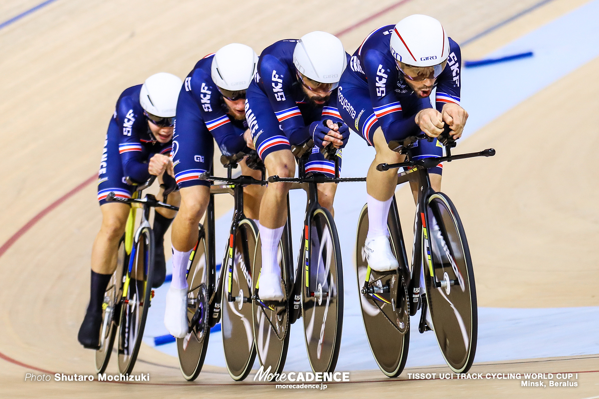Final / Men's Team Pursuit / TISSOT UCI TRACK CYCLING WORLD CUP I, Minsk, Beralus