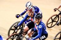 ジェニファー・バレンテ VALENTE Jennifer クリスティーナ・バーチ BIRCH Christina Women's Madison / TISSOT UCI TRACK CYCLING WORLD CUP I, Minsk, Beralus
