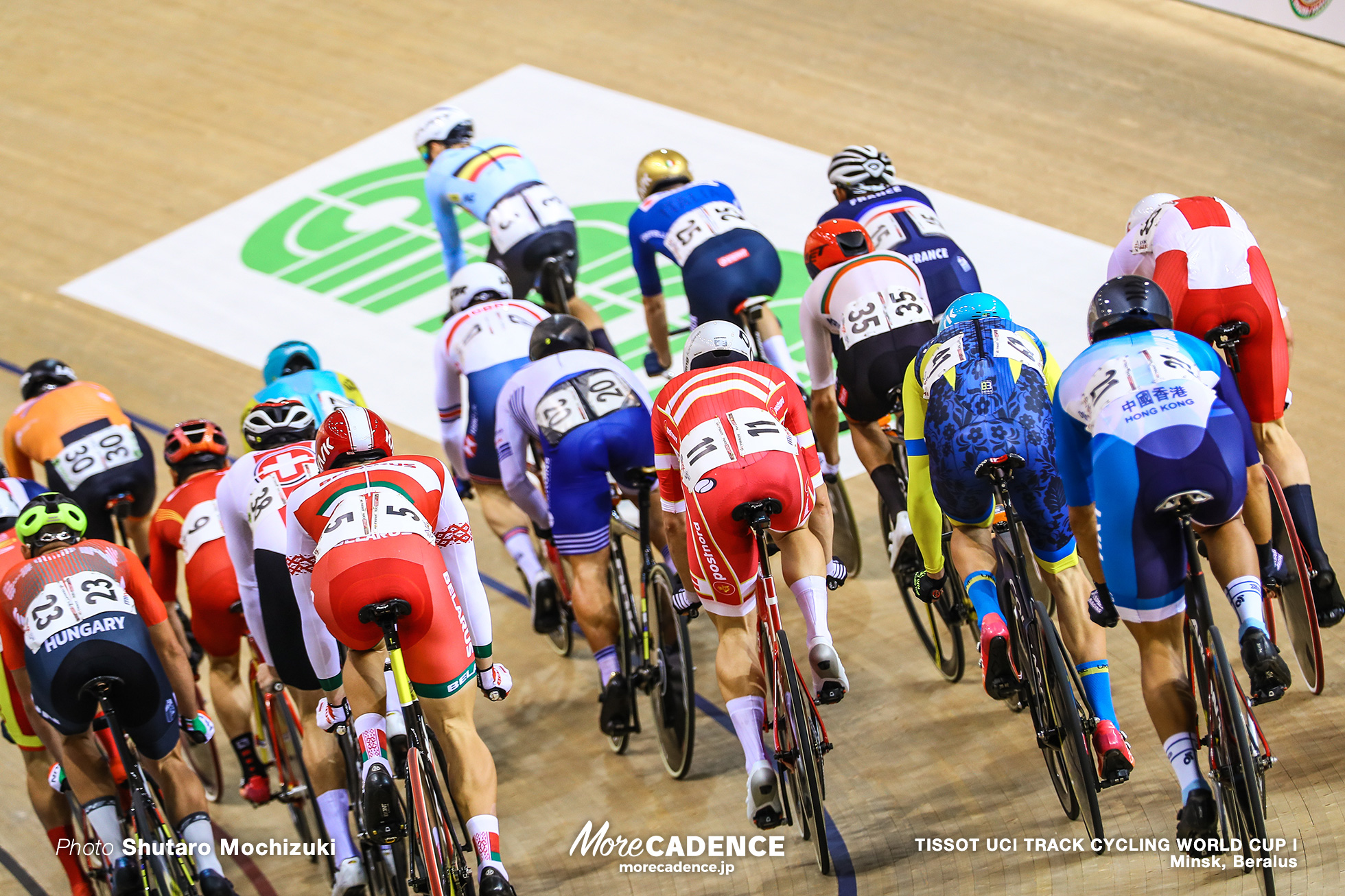 Elimination / Men's Omnium / TISSOT UCI TRACK CYCLING WORLD CUP I, Minsk, Beralus