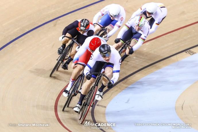 Final / Men's Keirin / TISSOT UCI TRACK CYCLING WORLD CUP I, Minsk, Beralus
