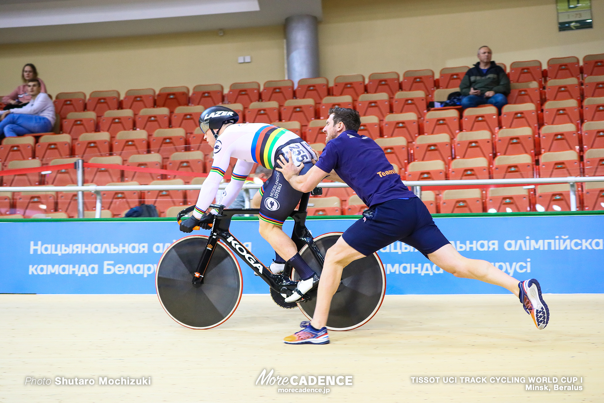 Qualifying / Men's Sprint / TISSOT UCI TRACK CYCLING WORLD CUP I, Minsk, Beralus