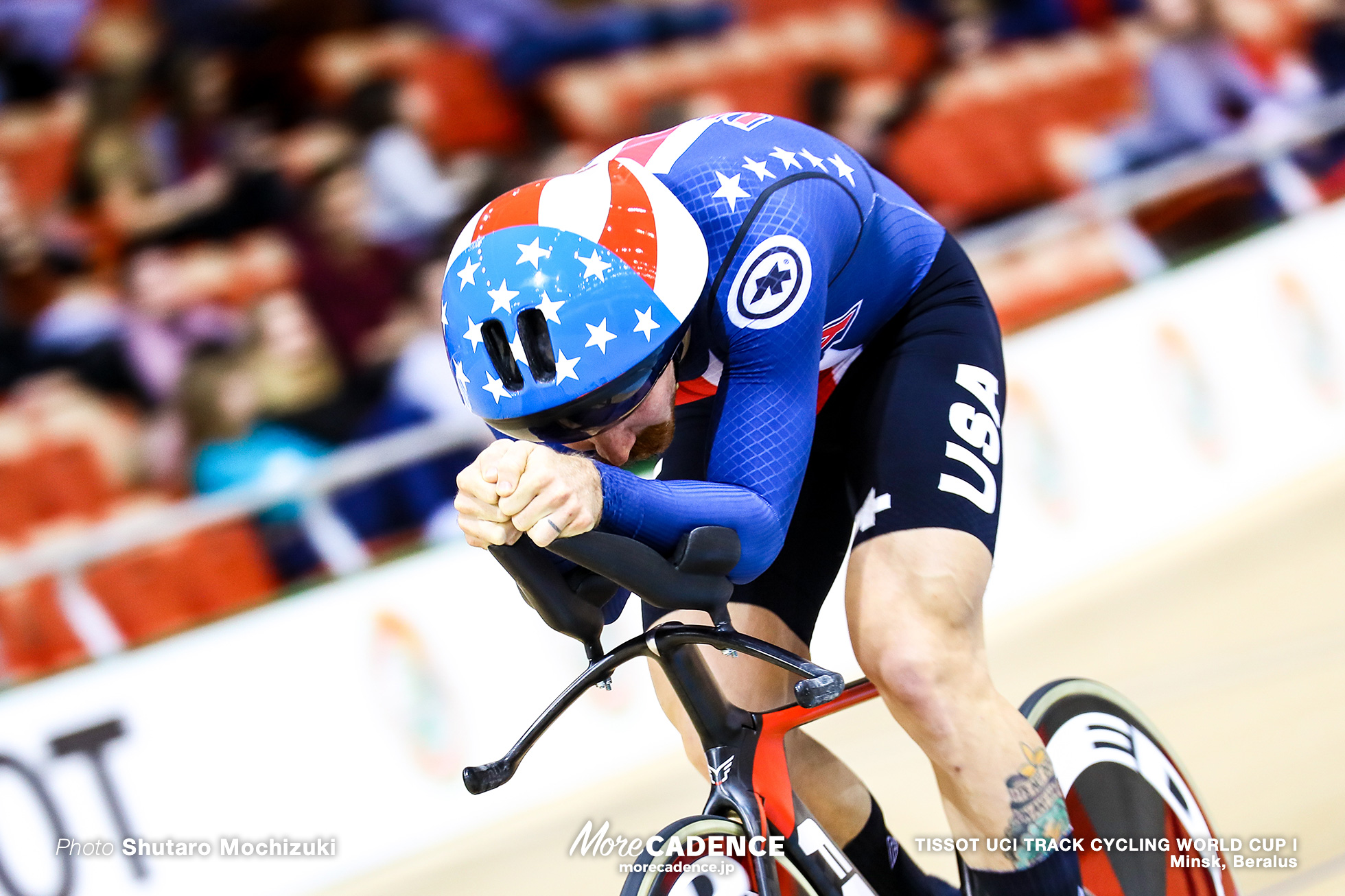 Ashton LAMBIE, Qualifying / Men's Individual Pursuit / TISSOT UCI TRACK CYCLING WORLD CUP I, Minsk, Beralus