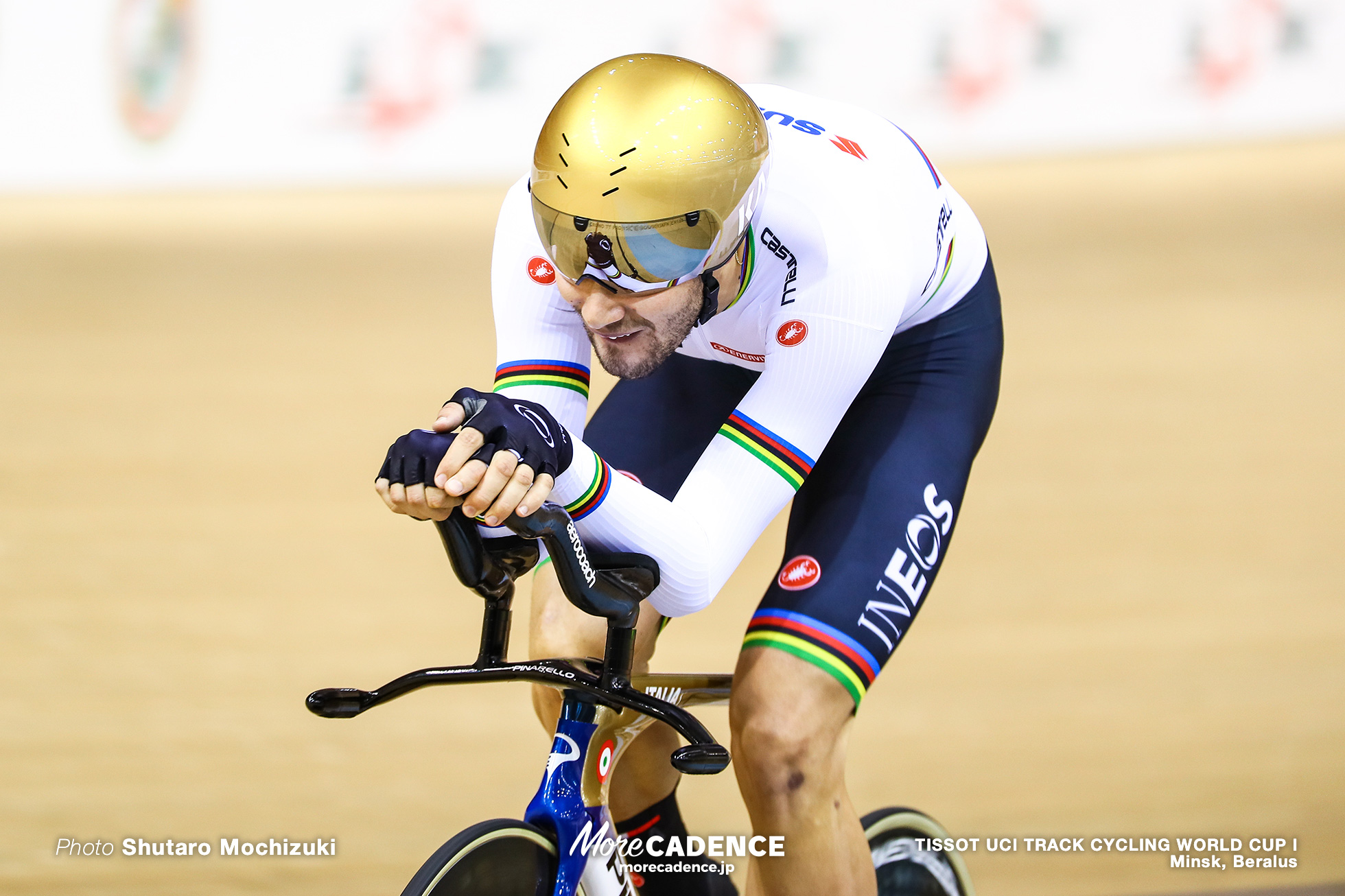 フィリッポ・ガンナ Fillipo Ganna, Final / Men's Individual Pursuit / TISSOT UCI TRACK CYCLING WORLD CUP I, Minsk, Beralus
