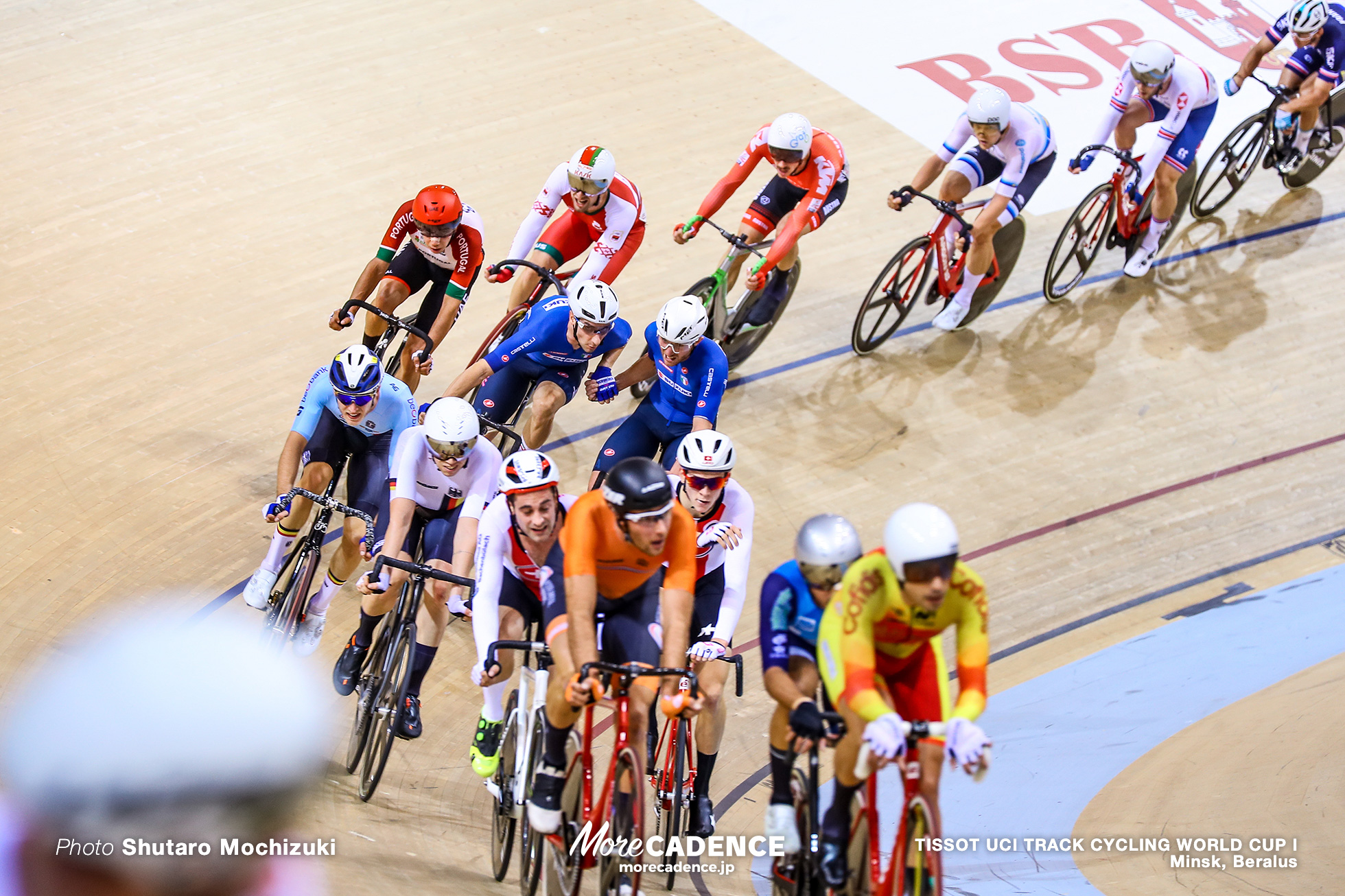 Men's Madison / TISSOT UCI TRACK CYCLING WORLD CUP I, Minsk, Beralus