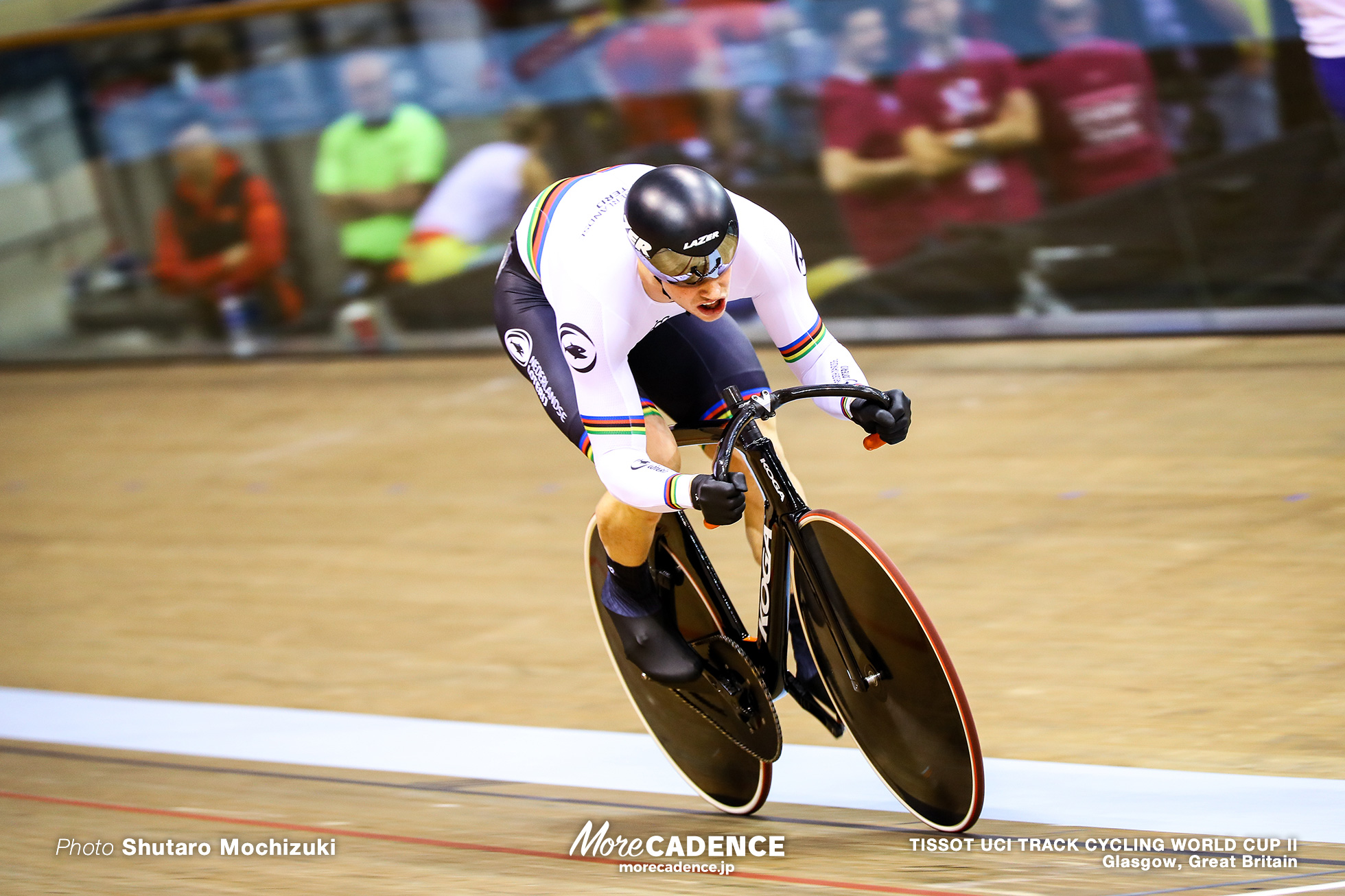 Harrie Lavreysen (NED), Qualifying / Men's Sprint / TISSOT UCI TRACK CYCLING WORLD CUP II, Glasgow, Great Britain