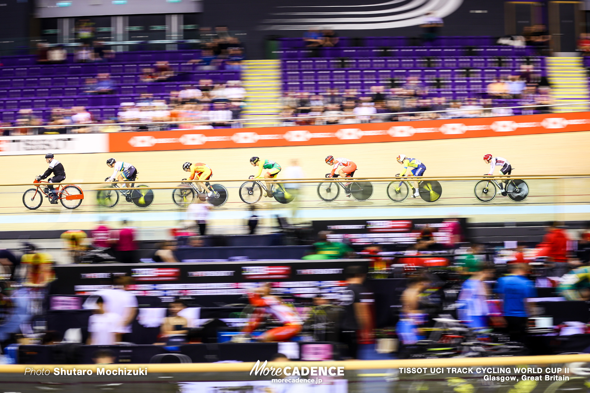 1st Round / Women's Keirin / TISSOT UCI TRACK CYCLING WORLD CUP II, Glasgow, Great Britain