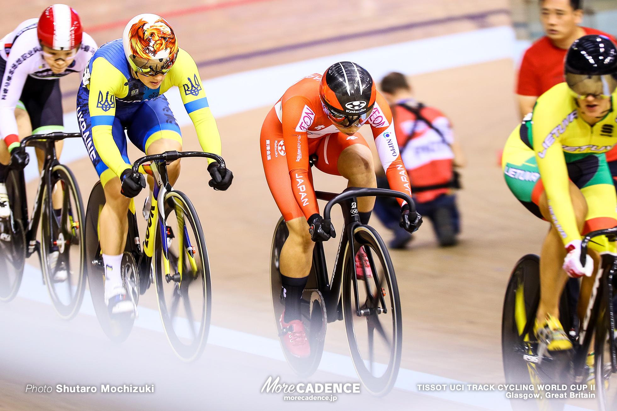 1st Round / Women's Keirin / TISSOT UCI TRACK CYCLING WORLD CUP II, Glasgow, Great Britain, Caitlin WARD ケイトリン・ワード Simona KRUPECKAITE シモーナ・クルペツカイテ Liubov BASOVA リウボヴ・バソワ Helena CASAS ROIGE エレナ・カサス・ロイエ GUO Yufang 太田りゆ
