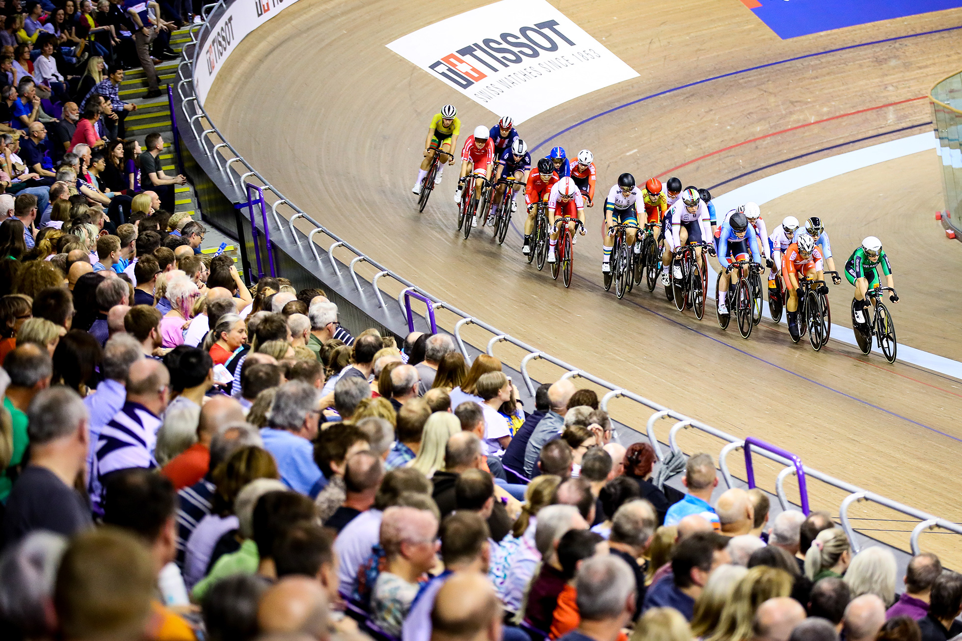 Elimination / Women's Omnium / TISSOT UCI TRACK CYCLING WORLD CUP II, Glasgow, Great Britain