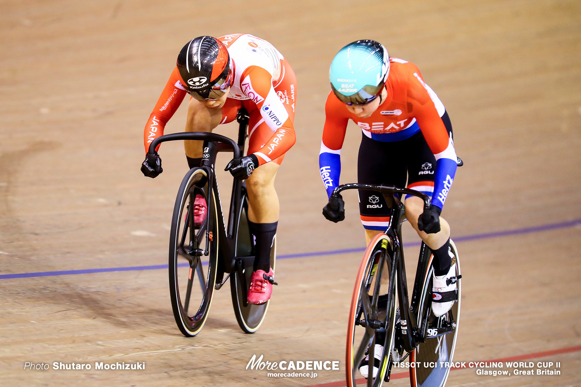 1st Round / Women's Sprint / TISSOT UCI TRACK CYCLING WORLD CUP II, Glasgow, Great Britain