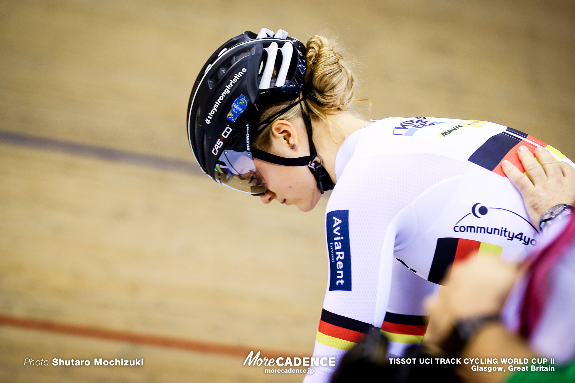 Final / Women's Sprint / TISSOT UCI TRACK CYCLING WORLD CUP II, Glasgow, Great Britain