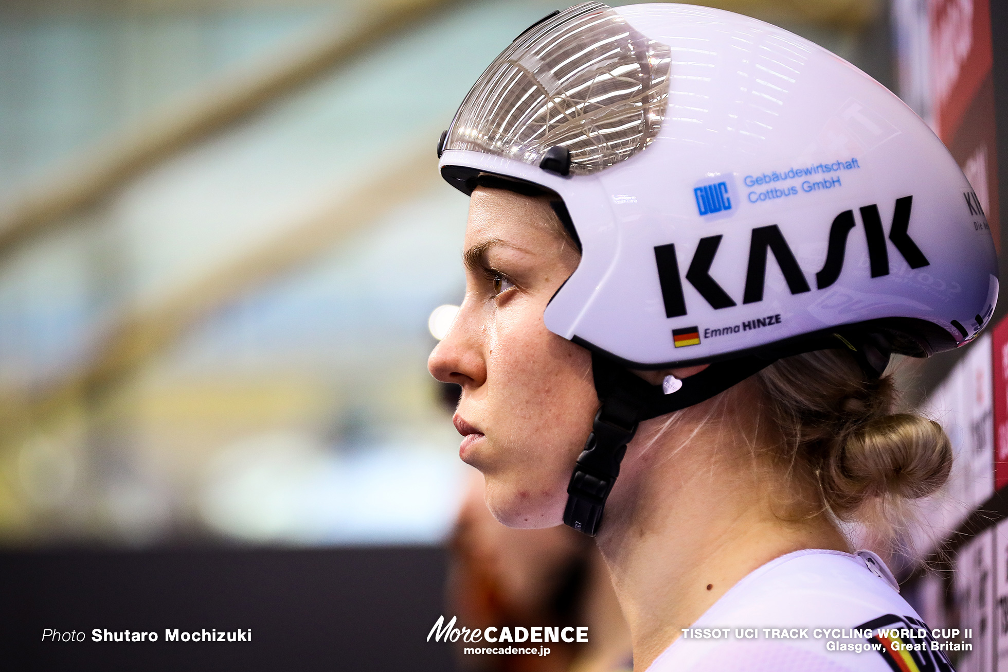 Final / Women's Sprint / TISSOT UCI TRACK CYCLING WORLD CUP II, Glasgow, Great Britain, Emma HINZE エマ・ヒンツェ